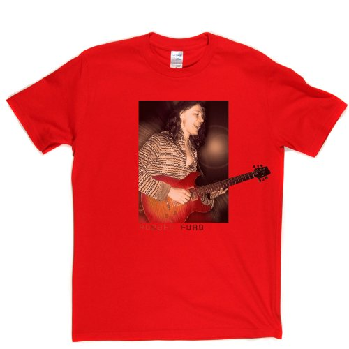 Robben Ford American Blues Jazz Rock Guitarist Musician T-shirt Rot