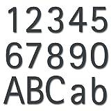 Numero civico in acciaio inox Style Antracite RAL7016
