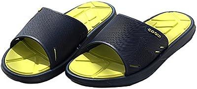 Slip On Zapatillas sandalias de ducha antideslizante zapatos de empeine casa Mule de malla piscina baño Slide para adultos