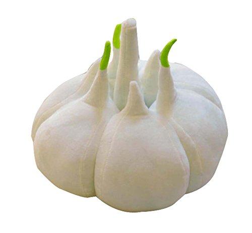 Simulation von Gemüse Plüschtiere Kissen Geburtstag Geschenk Knoblauch 38cm