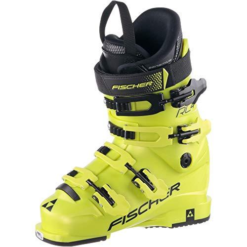 Fischer Unisex Jugend Junior Skischuhe RC4 70 JR Thermoshape, gelb, 22.5, 225 -