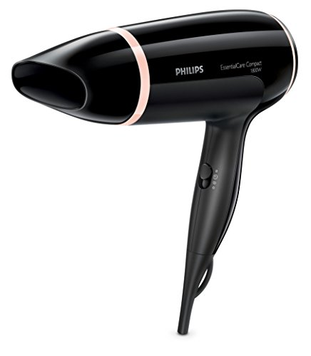 Philips BHD004/10 Sèche-cheveux, 1800W, ThermoProtect, Touche Air froid