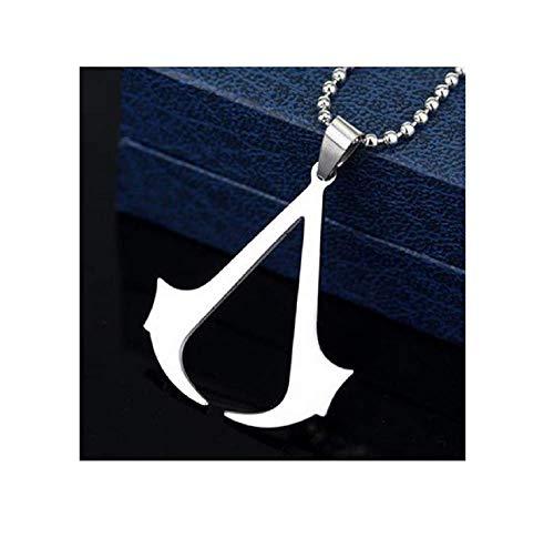 Halskette Assassin's Creed Anhänger Cosplay Connor Kenway Ezio - Stahl