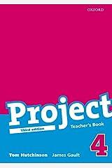 Project: 4 Third Edition: Teacher's Book Paperback
