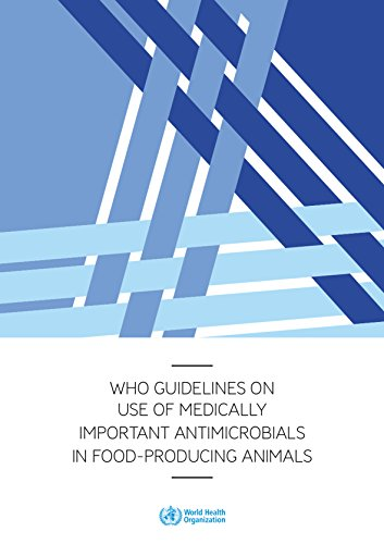 Who Guidelines on Use of Medically Important Antimicrobials in Food-Producing Animals por World Health Organization