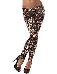 Q.A. Damen Leggings lang in verschiedenen Designvarianten