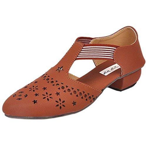 Jolly Jolla Women's Xclusive Tan Synthetic Sandals -6 UK