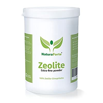 NaturaForte Diatomaceous Earth Powder (500g) Zeolite Clinoptilolite Detox | 100% Pure & Natural | Extra - Fine Powder | Sedimentary Mineral Booster | ISO Quality and Safety Assurance for 50 days by Görges Naturprodukte GmbH