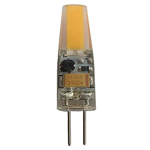10puce LED G42W COB, ampoule de lampe blanc chaud 3000K, étanche lumière, T3JC type halogène 20W ~ 25W, de rechange AC DC 12V
