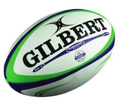 Hochwertige Handarbeit Team Gilbert Rugby Barbarian Match Ball Größe 5