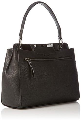 Tamaris - LENITA Handbag, Borsa con Maniglia Donna Nero (Schwarz (black comb 098))