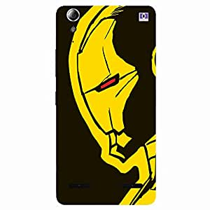 Yellow SpiderMan - Mobile Back Case Cover For Lenovo A6000 Plus