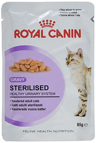 Royal Canin Comida para gatos Sterilised 12*85gr