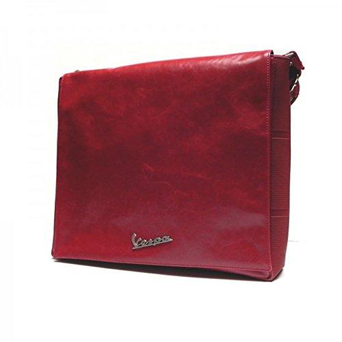 1c9cdf6351 Vespa Vpsc46 Borsa Messenger, 36 cm, Rosso