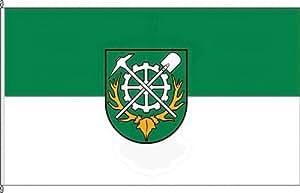 Königsbanner Hochformatflagge Langelsheim - 150 x 400cm - Flagge und Fahne