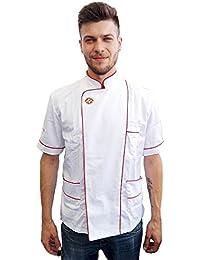 Amazon.it  Petersabitidalavoro - Giacche da chef   Ristorazione ... 184ffa80ee33