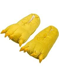 Tuopuda Zapatos Zapatillas Garras de Animal Traje de Disfraz para Adulto Unisex Carnaval Halloween de Terciopelo Felpa Zapatos Invierno