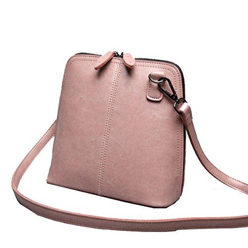 Conchiglie Yy.f E Piccoli Borsa A Tracolla Diagonale Borse Moda Signore Di Modo Borsa Di Pelle Grande Stella 3 Colori Pink