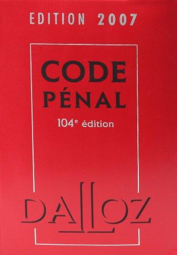 Code pénal (1Cédérom)