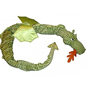 Peluche doudou IKEA Dragon Vert L 190 cm Minnen Drake