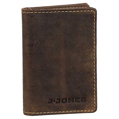 Ledershop24 Geschenkset - Ausweisetui Leder Ausweismappe Ausweishülle Kreditkartenetui Kartenetui Führerschein Farbe braun 5495