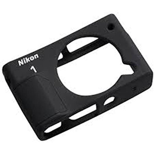 Nikon CF-N8000 Schutzhülle für Nikon 1 J4, Silikon, Schwarz