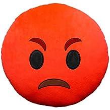 557315 Almohada emoticono motivo Enfadado de 30 cm ø