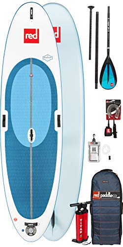 2018 Red Padle Co Windsurf 10'7 Inflatable Stand Up Paddle Board + Bag,...