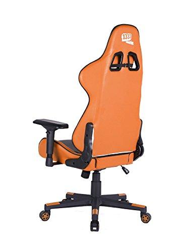 Silla 1337 Industries GC780/BO – Negra/Naranja