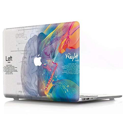 AQYLQ Hülle für 2018 MacBook Air 13 Zoll mit Retina A1932 Hartschale Tasche Schutzhülle Case 13-Zoll MacBook Air Laptop - Musikalisches Gehirn (Musikalische Tasche Tastatur)