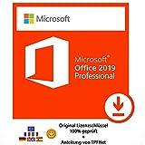 MS Office 2019 Professional 32 bit & 64 bit Vollversion Original Lizenzschlüssel per Post und E-Mail + Anleitung von TPFNet® - Versand maximal 60Min