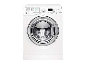 Hotpoint WMG 923BX IT.C Autonome Charge avant 9kg 1200tr/min A+++ Blanc machine à laver - machines à laver (Autonome, Charge avant, Blanc, Gauche, 62 L, Chrome)