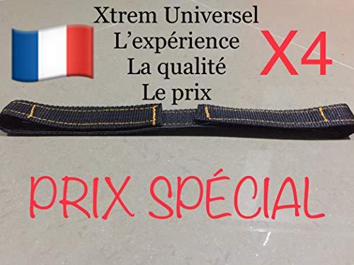 X4 Xtrem Universal Hoverkart Ersatzklettband Gurte für Befestigung Hover Go Kart Overkart Over Cart Hoverkart Hovercart Scratch Hoverboard Strong