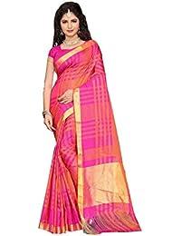 Saree By Saree Mandir Cotton Saree With Blouse Piece