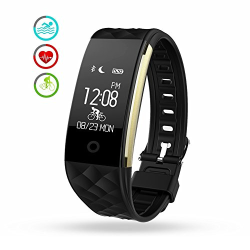 Fitness Tracker Heart Rate Monitor Wireless Smart Bracelet Waterproof Activity Tracker Pedometer Wristband Sleep Monitor Smartwatch For Android And IOS Smartphones IPhone 7 7 Plus 6 Samsung S8