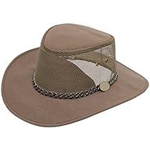 Men's Casual Brown Australian Voyager Outdoor Bush Style Hat