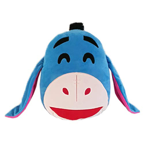 Laughing Eeyore Emoji Face Plush 35 cm