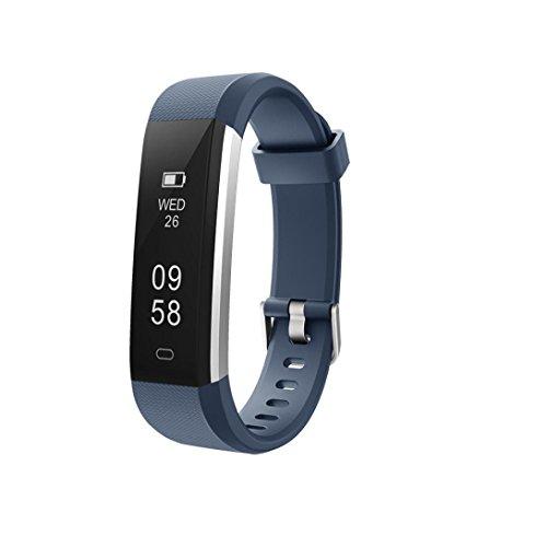 LCLrute Mode ID115U Bluetooth Smart Watch Armband Armband Schrittzähler Sport Fitness Tracker (Marine)
