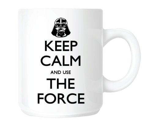 Star Wars. Keep Calm And Use The Force MUG. by Top Banana