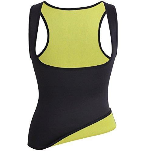 Women Hot Sweat Body Shaper Tank Thermo Yoga Sauna Neoprene Vest Fat Burner Slimming Waist Shaper Trainer Cincher (S)
