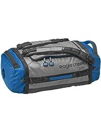 Eagle Creek Wasserabweisender Backpacker Cargo Hauler Duffel ultraleichte Reisetasche mit Rucksacktragegurten, 45 L, blue/grey,S