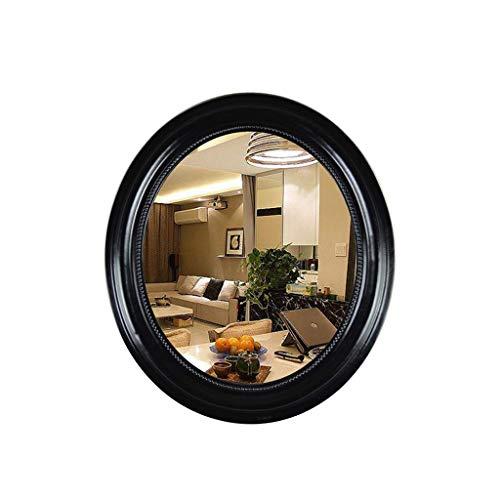 M-SO Make-Up-Umkleide Spiegel Europäischen Bad Spiegel Innenraum Wohnzimmer Veranda Bronze 66X76Cm Umkleidetisch Make-Up-Spiegel Ohne Licht (Bronze-beleuchtete Make-up-spiegel)