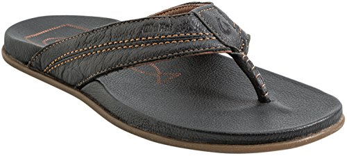 OluKai Mohalu Men Black/Black