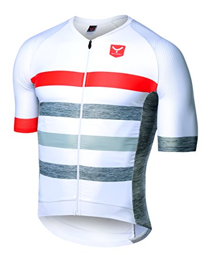 Taymory Mushler B203 Maillot, Hombre, Gris, L
