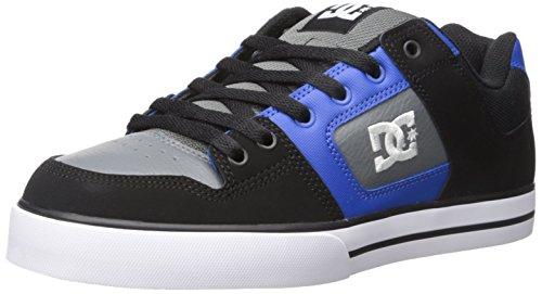 DC Shoes Pure Slim Shoe, Chaussures de skate homme Black (xkbs)