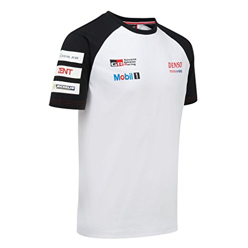 Toyota Gazoo Racing Team T-Shirt, ty11t1 S Weiß