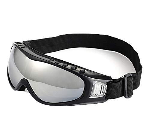 Dräger Schutzbrille Outdoorbrillen Motorradsportbrillen Tragen Undurchlässige Fächer Taktische Skibrillen Silver Damen Herren