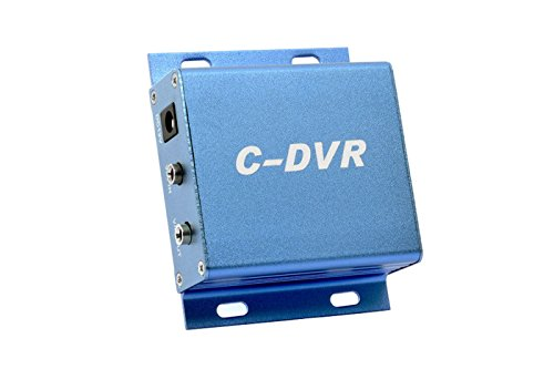 Videoüberwachung Mini DVR Notebook 1CH 12V Video Audio in Out Aufnahme Karte Micro SD TF c-dvr 1 Source Video