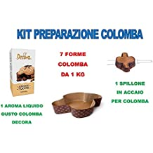 Set preparación Paloma Artesanal Pascua – Kit N ° 11 CDC (1 aroma Paloma Decora
