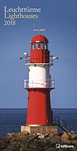 Leuchttürme 2018 - Leuchtturmkalender, Meereskalender, Strandkalender  -  33 x 64 cm